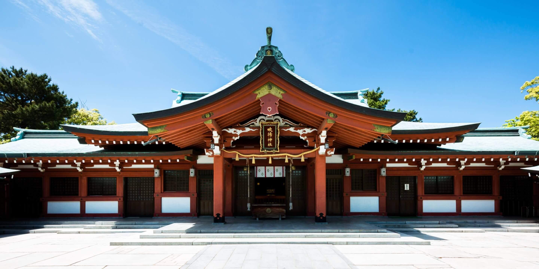 写真:吹揚神社正面
