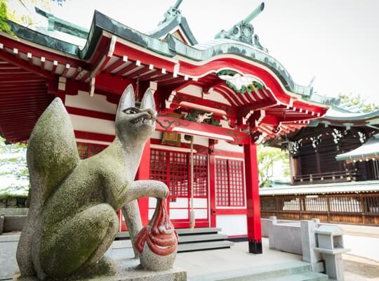 写真:吹揚稲荷神社