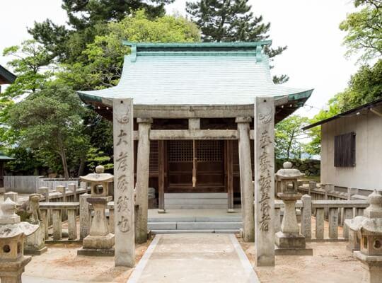 写真:麁香神社