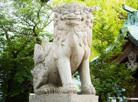 写真:狛犬