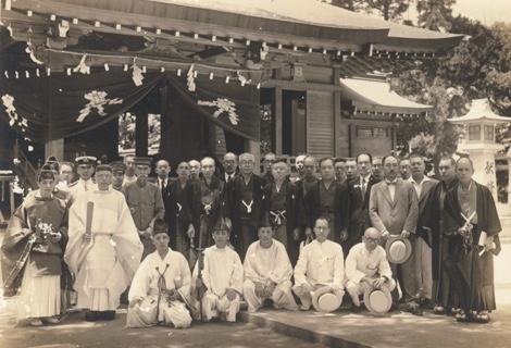 空襲前の吹揚神社