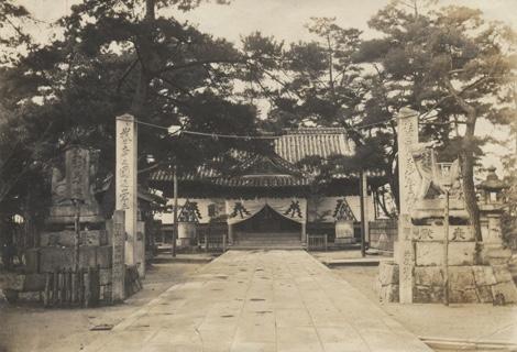 昭和初頭の吹揚神社