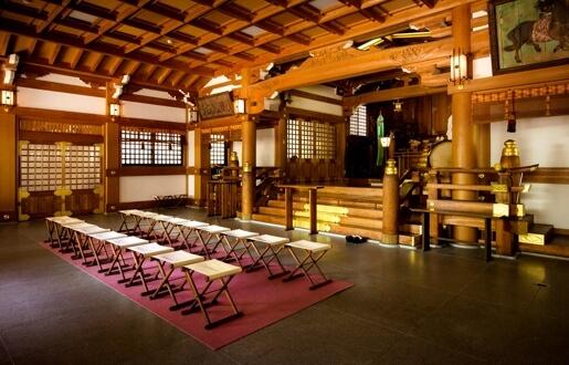 写真:吹揚神社の内観