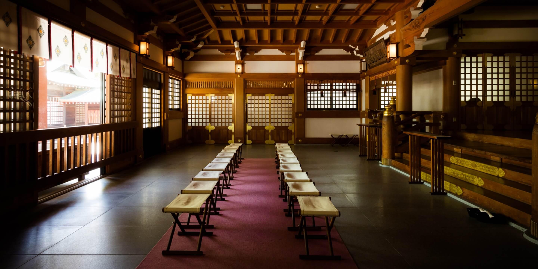 写真:吹揚神社内部